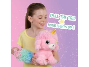 Peluche interactivo Ploosh Glowcorn - Puppycorn