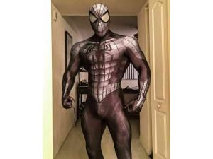 Spider-man hombre araña disfraz negro