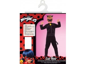 Prodigiosa Ladybug disfraz infantil Cat Noir con accesorios