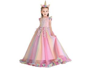 Disfraz Vestido de Tul Princesa Unicornio