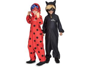 Prodigiosa Ladybug disfraz enterizo Cat Noir