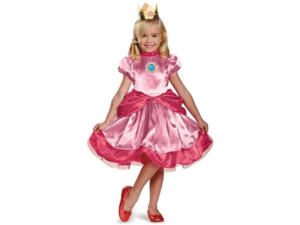 Super Mario disfraz Princesa Peach