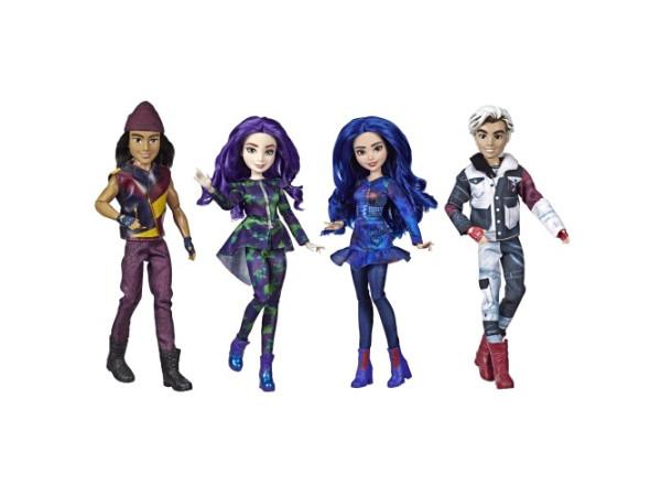 Descendientes 3 set muñecos