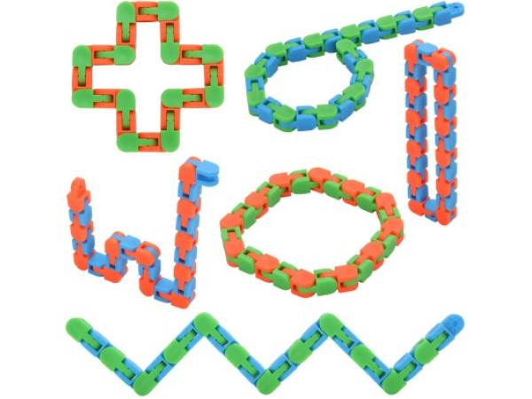 Cubo serpiente mágica de giro x 6 unds