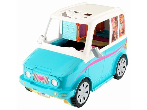 Barbie coche parque perritos DLY33