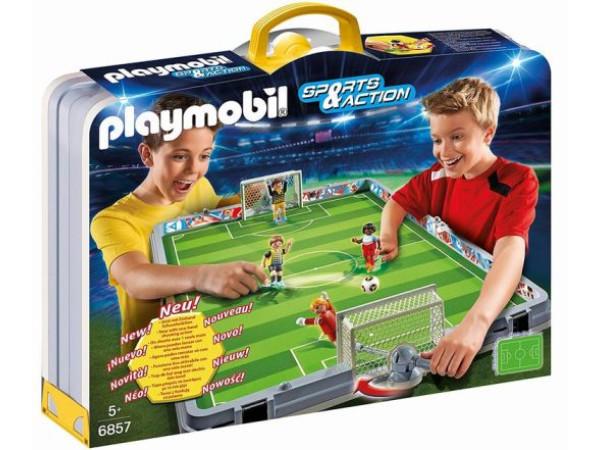 Playmobil maletín futbolin