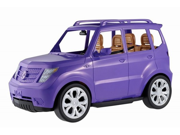 Barbie automóvil todocamino DVX58