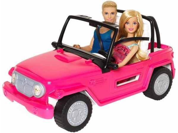 Barbie auto playa CJD12