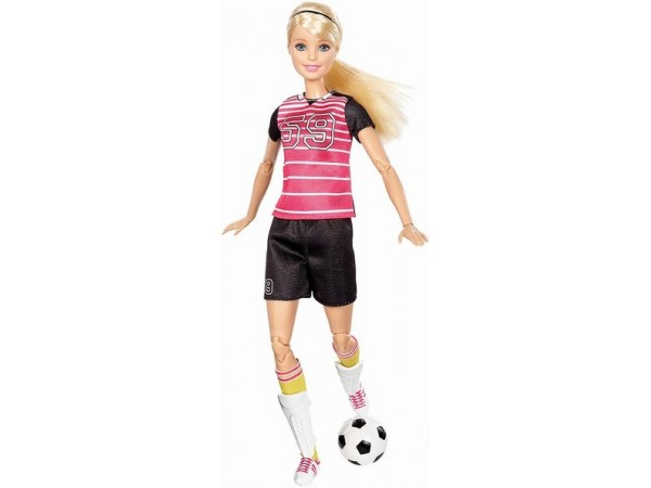 Barbie movimientos futbolista DVF69