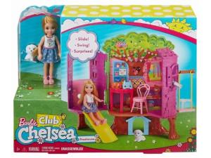 Barbie Chelsea casita árbol FPF83