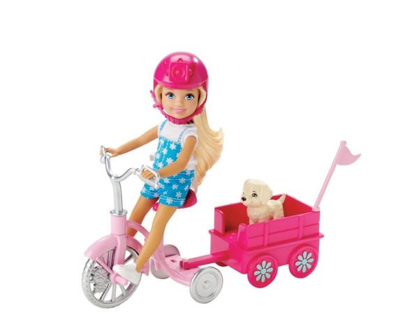 Barbie Chelsea y su triciclo CNB23