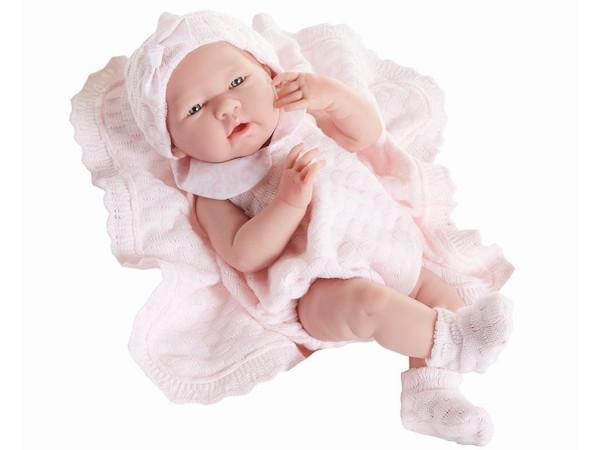 Bebé reborn Berenguer tejido rosa