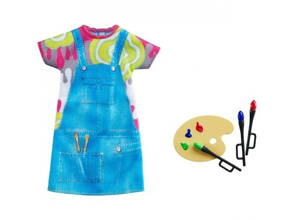Barbie moda pintora DNT93