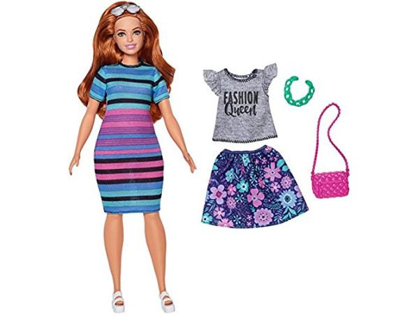 Barbie fashionistas happy FJF69