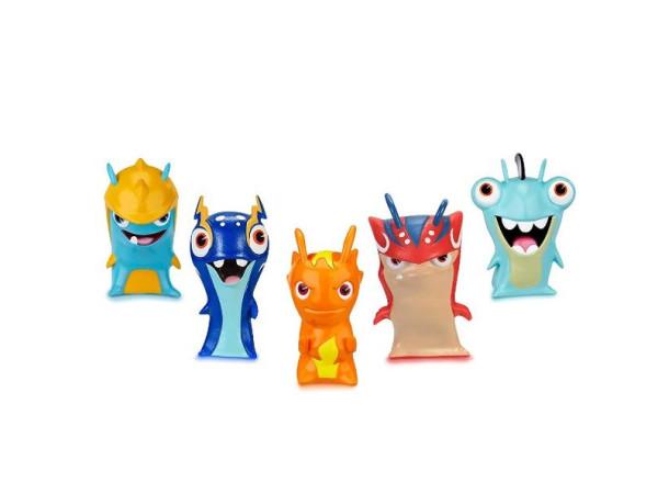 Bajoterra pack 5 figuras babosas