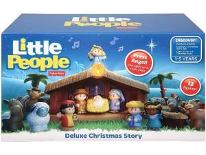 Little People pesebre de lujo J2404