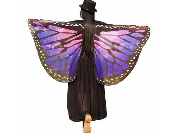 Alas mariposa hada tela suave surtido
