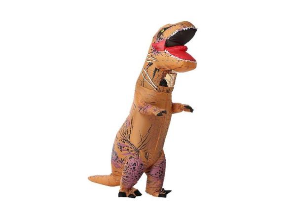 Disfraz inflable t rex dinosaurio