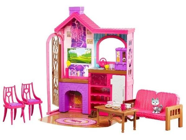 Barbie camping cabaña DYX20