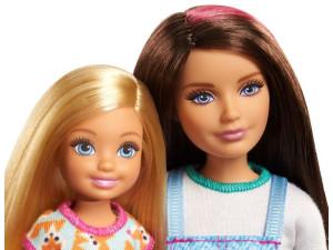 Barbie camping hermanas FNY39