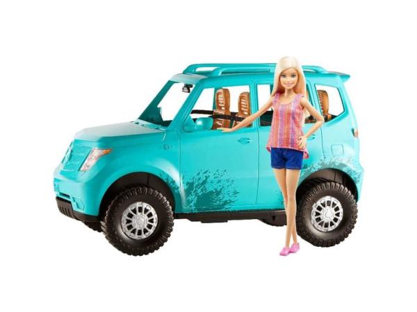 Barbie camping camioneta FCG99