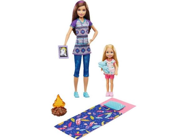 Barbie camping hermanas DYX17