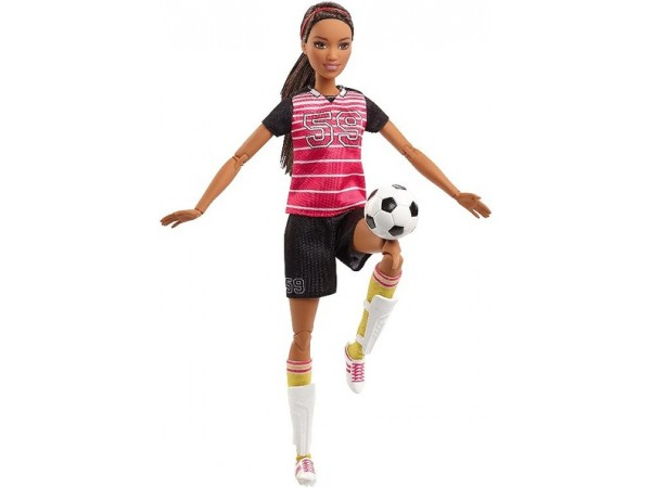 Barbie movimientos futbolista FCX82