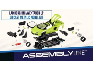 Aventador LP 700-4 assembly line Maisto