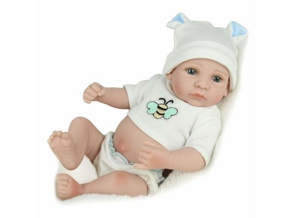 Muñeco bebé reborn Kaydora - lavable