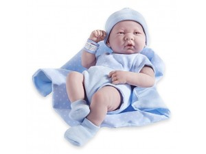 Bebé reborn Berenguer 35 cm - azul