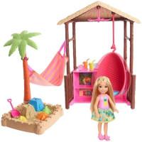 Barbie Chelsea choza tiki FWV24