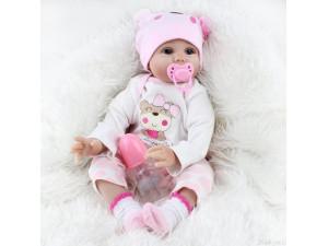 Muñeco bebé reborn 55 cm