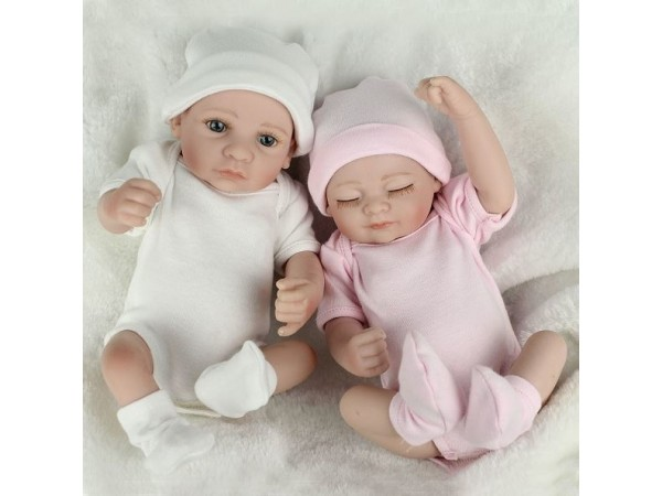 Muñecos bebé reborn gemelitos