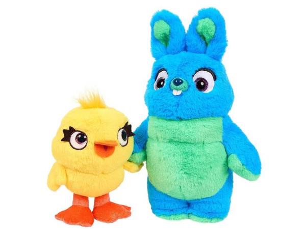 Toy Story 4 peluches amigos Ducky y Bunny
