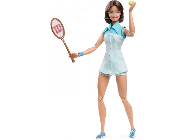 Barbie muñeca Billie Jean King GHT85