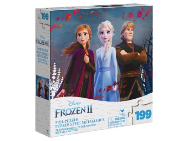 Frozen 2 rompecabezas metálico