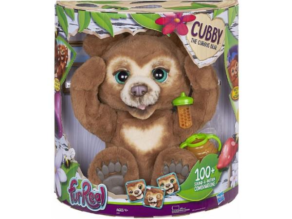 Furreal Cubby el oso curioso