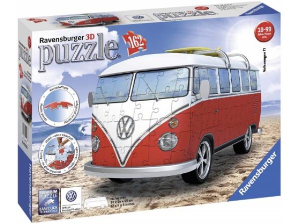 Rompecabezas 3D Volkswagen Campervan Ravensburger