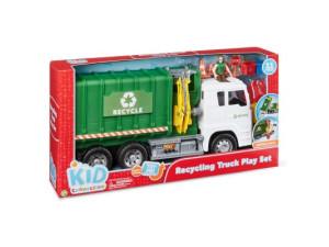 Camión reciclaje de juguete 11 pcs