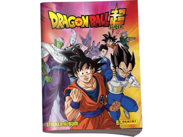 Dragon Ball Super albúm calcomanías