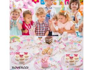 Set de cumpleaños unicornio 16 personas