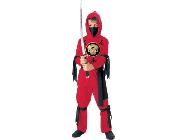 Disfraz Ninja para niños - Rojo