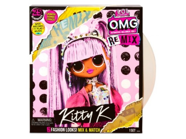 LOL Surprise OMG Remix Remix Kitty K