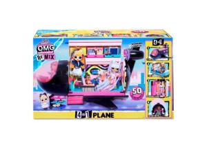 LOL Surprise Remix avión 4-en-1
