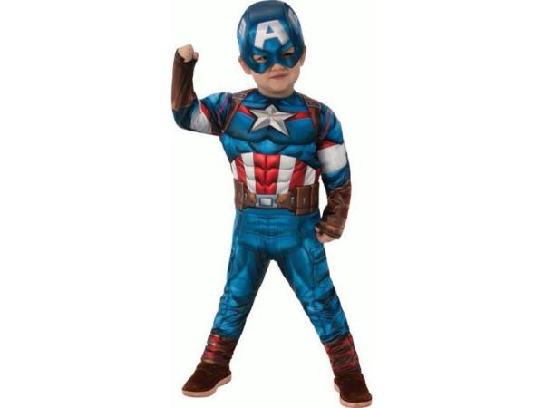 Captain America disfraz infantil
