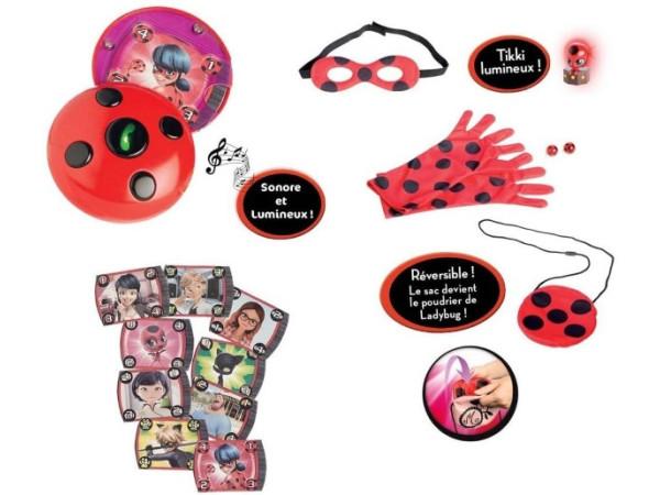 Prodigiosa Ladybug Teléfono y Antifaz