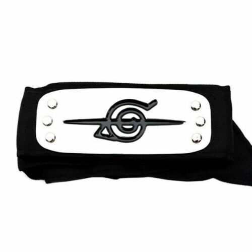 Naruto bandana ninja negra