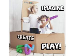 Tubos juguetes sensoriales autismo 4 pcs