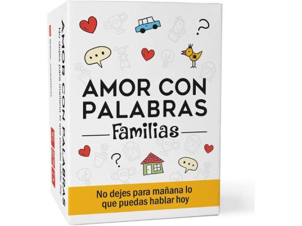 Amor con palabras familias