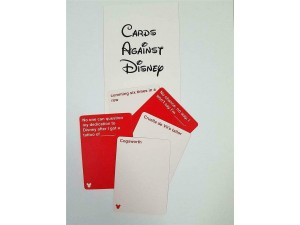 Juego Cartas contra Disney (Inglés)